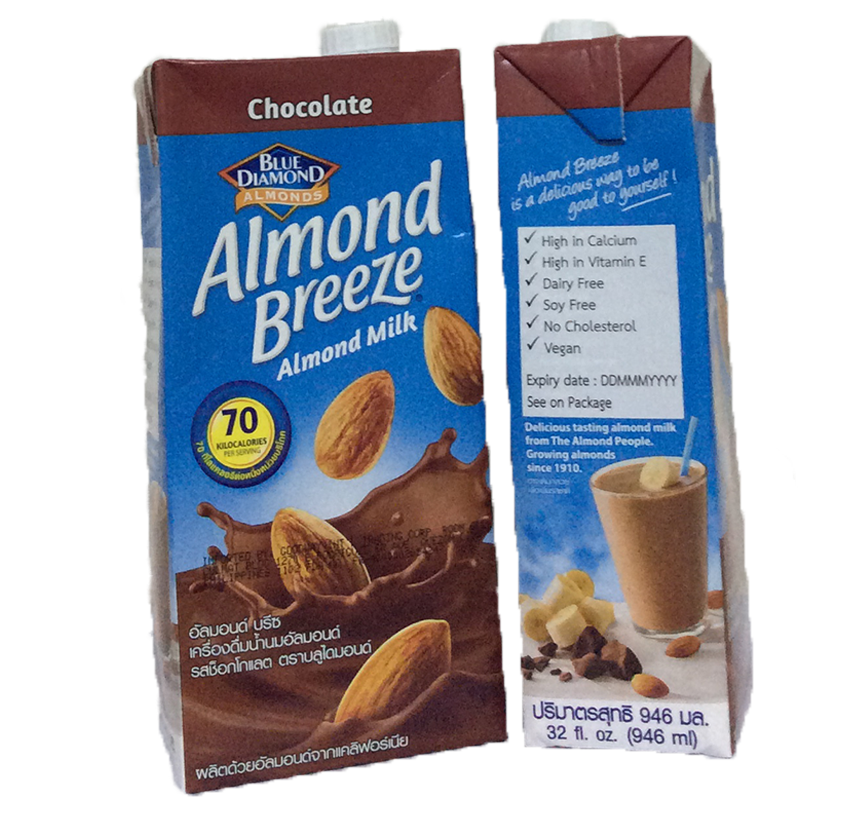 Almond Milk - Choco 946 ml
