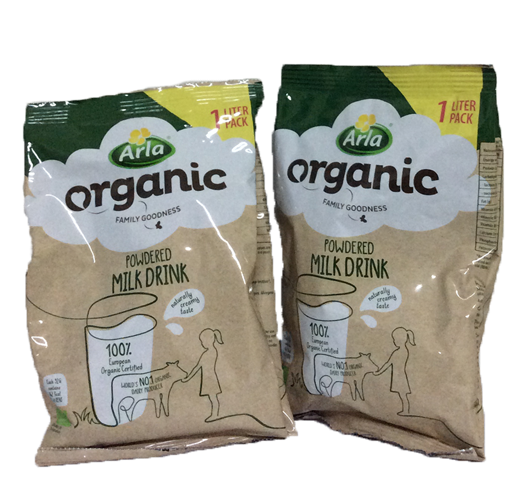 Arla Organic Powdered Cows Milk